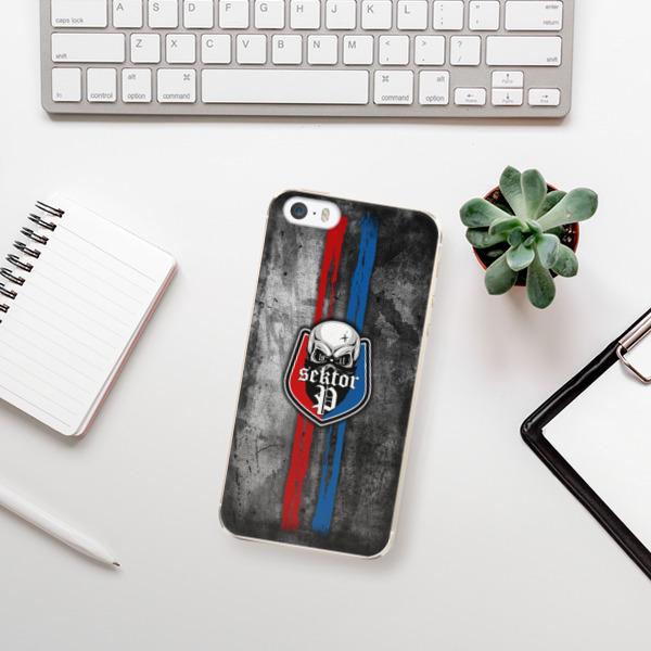 Plastové pouzdro iSaprio - FCVP - Lebka na mobil Apple iPhone 5 / 5S / SE