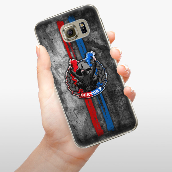 Plastové pouzdro iSaprio - FCVP - Fanatik na mobil Samsung Galaxy S6 Edge Plus