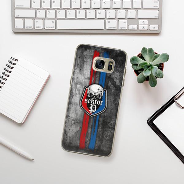 Plastové pouzdro iSaprio - FCVP - Lebka na mobil Samsung Galaxy S7