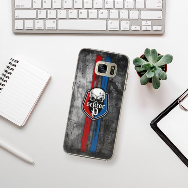 Plastové pouzdro iSaprio - FCVP - Lebka na mobil Samsung Galaxy S7 Edge