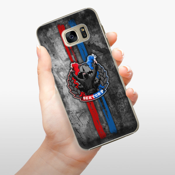 Plastové pouzdro iSaprio - FCVP - Fanatik na mobil Samsung Galaxy S7 Edge