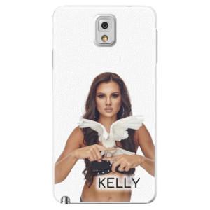 Plastové pouzdro iSaprio - Kelly s hrdličkou na mobil Samsung Galaxy Note 3 + podepsaná karta s Kelly