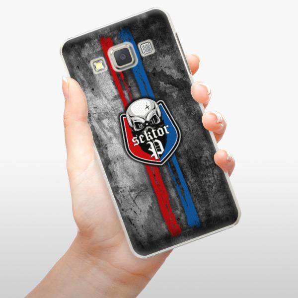 Plastové pouzdro iSaprio - FCVP - Lebka na mobil Samsung Galaxy A5