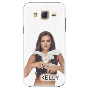 Plastové pouzdro iSaprio - Kelly s hrdličkou na mobil Samsung Galaxy Core Prime + podepsaná karta s Kelly