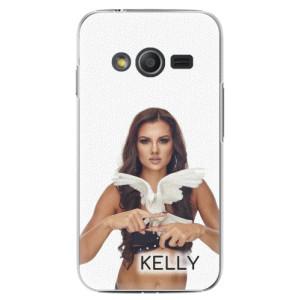 Plastové pouzdro iSaprio - Kelly s hrdličkou na mobil Samsung Galaxy Trend 2 Lite + podepsaná karta s Kelly