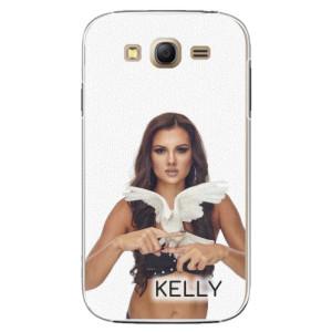 Plastové pouzdro iSaprio - Kelly s hrdličkou na mobil Samsung Galaxy Grand Neo Plus + podepsaná karta s Kelly