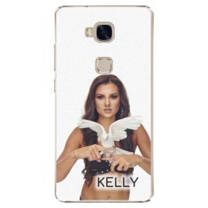 Plastové pouzdro iSaprio - Kelly s hrdličkou na mobil Honor 5X + podepsaná karta s Kelly