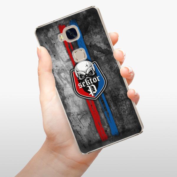 Plastové pouzdro iSaprio - FCVP - Lebka na mobil Honor 5X