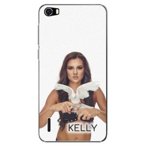 Plastové pouzdro iSaprio - Kelly s hrdličkou na mobil Honor 6 + podepsaná karta s Kelly