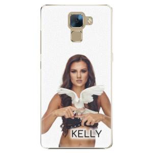 Plastové pouzdro iSaprio - Kelly s hrdličkou na mobil Honor 7 + podepsaná karta s Kelly