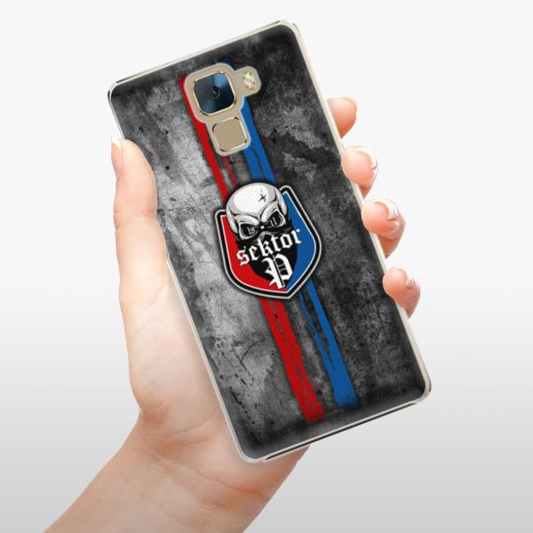 Plastové pouzdro iSaprio - FCVP - Lebka na mobil Honor 7