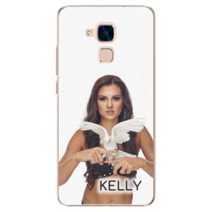 Plastové pouzdro iSaprio - Kelly s hrdličkou na mobil Honor 7 Lite + podepsaná karta s Kelly