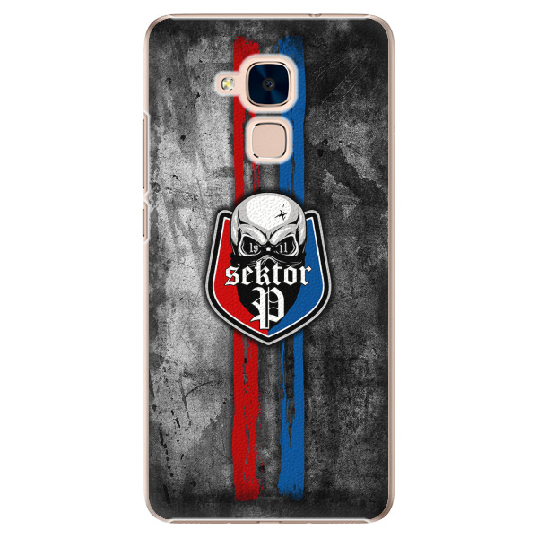 Plastový kryt - FCVP - Lebka na mobil Honor 7 Lite