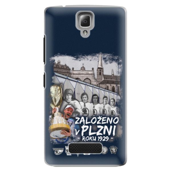 Plastové pouzdro iSaprio - Založeno v Plzni roku 1929 - Lenovo A2010