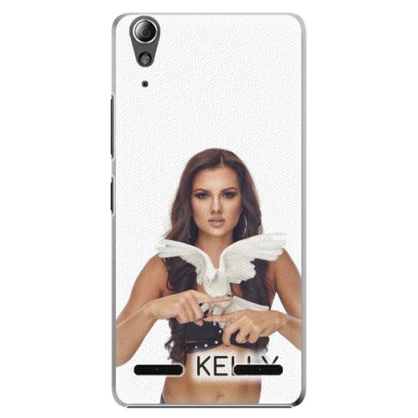 Plastové pouzdro iSaprio - Kelly s hrdličkou na mobil Lenovo A6000 / K3 + podepsaná karta s Kelly (Plastové pouzdro, kryt, obal iSaprio s motivem Kelly s hrdličkou na mobil Lenovo A6000 / K3 + kartička s podpisem Kelly)