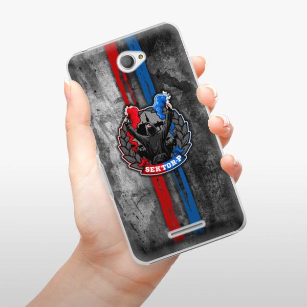Plastové pouzdro iSaprio - FCVP - Fanatik na mobil Sony Xperia E4