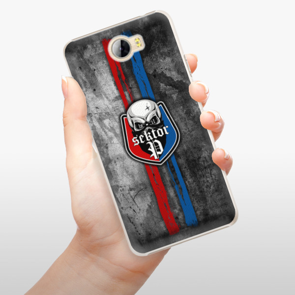 Plastové pouzdro iSaprio - FCVP - Lebka na mobil Huawei Y5 II / Y6 II Compact