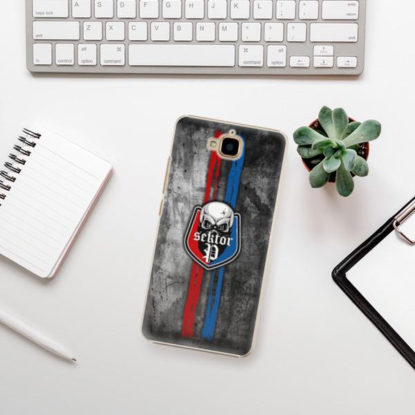 Plastové pouzdro iSaprio - FCVP - Lebka na mobil Huawei Y6 Pro