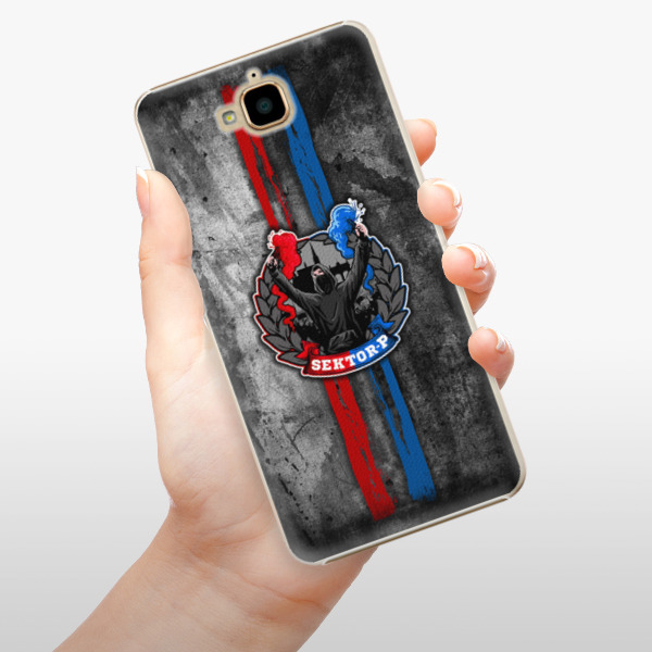 Plastové pouzdro iSaprio - FCVP - Fanatik na mobil Huawei Y6 Pro