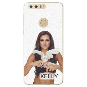Plastové pouzdro iSaprio - Kelly s hrdličkou na mobil Honor 8 + podepsaná karta s Kelly