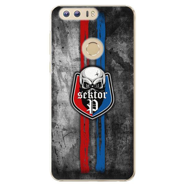 Plastový kryt - FCVP - Lebka na mobil Honor 8