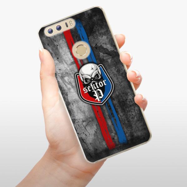 Plastové pouzdro iSaprio - FCVP - Lebka na mobil Honor 8