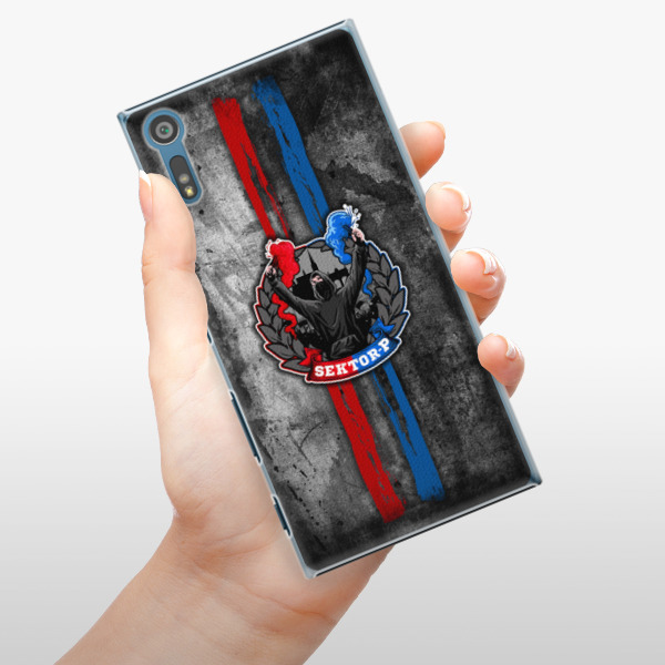 Plastové pouzdro iSaprio - FCVP - Fanatik na mobil Sony Xperia XZ