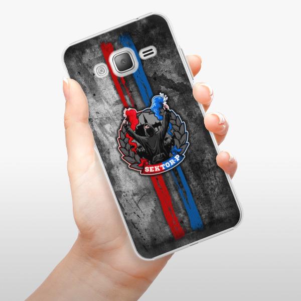 Plastové pouzdro iSaprio - FCVP - Fanatik na mobil Samsung Galaxy J3