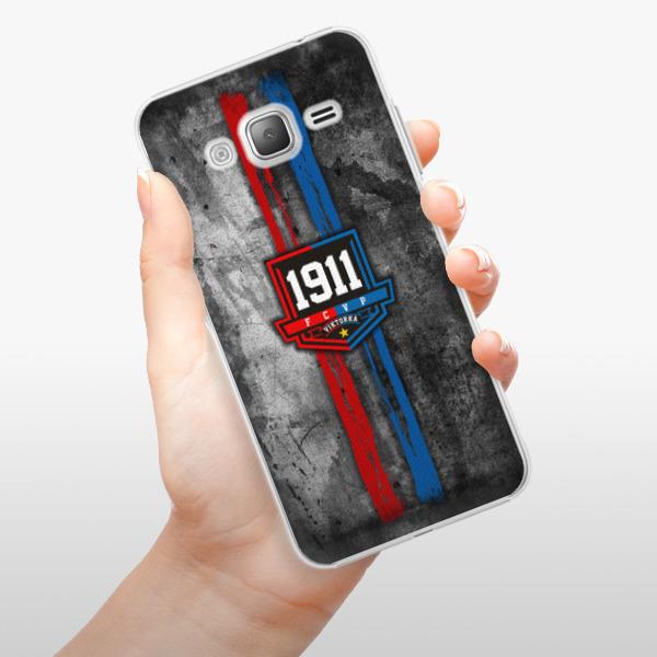 Plastové pouzdro iSaprio - FCVP - Erb na mobil Samsung Galaxy J3