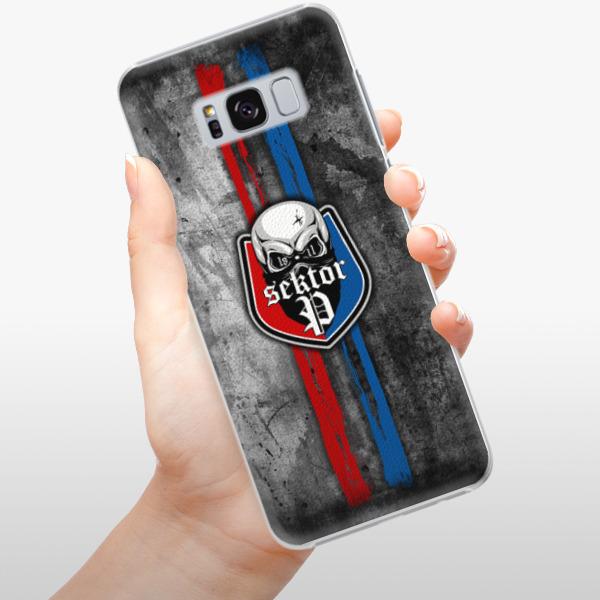 Plastové pouzdro iSaprio - FCVP - Lebka na mobil Samsung Galaxy S8