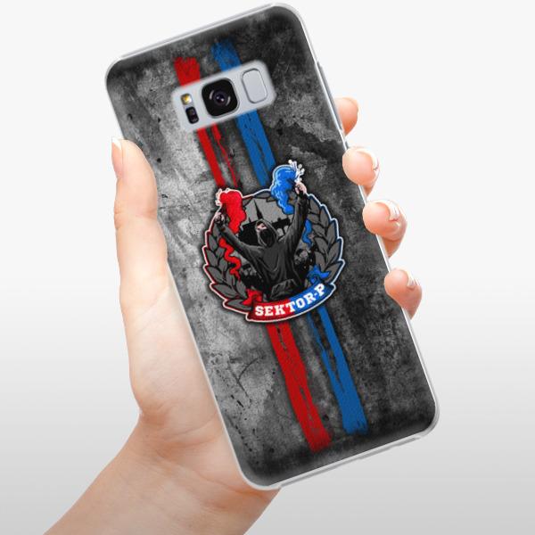 Plastové pouzdro iSaprio - FCVP - Fanatik na mobil Samsung Galaxy S8