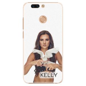 Plastové pouzdro iSaprio - Kelly s hrdličkou na mobil Honor 8 Pro + podepsaná karta s Kelly