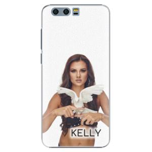 Plastové pouzdro iSaprio - Kelly s hrdličkou na mobil Honor 9 + podepsaná karta s Kelly