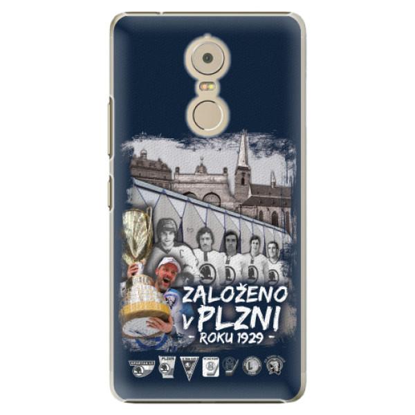 Plastové pouzdro iSaprio - Založeno v Plzni roku 1929 - Lenovo K6 Note