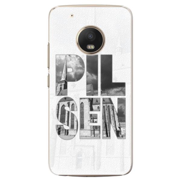 Plastové pouzdro iSaprio - Pilsen Bartoloměj - Lenovo Moto G5 Plus