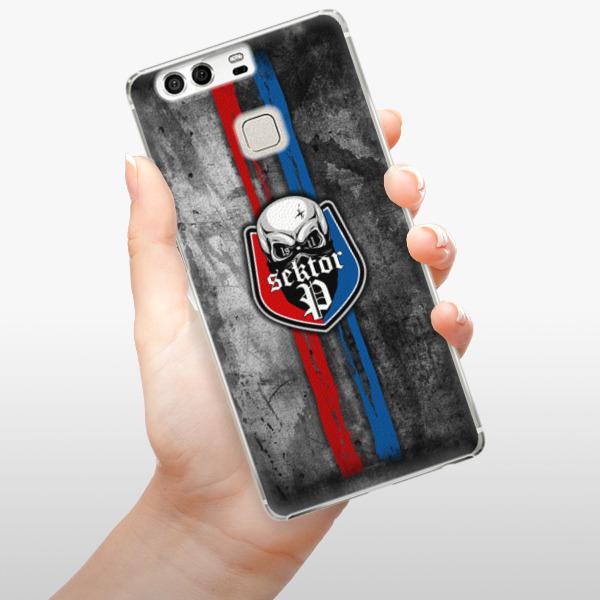 Plastové pouzdro iSaprio - FCVP - Lebka na mobil Huawei P9