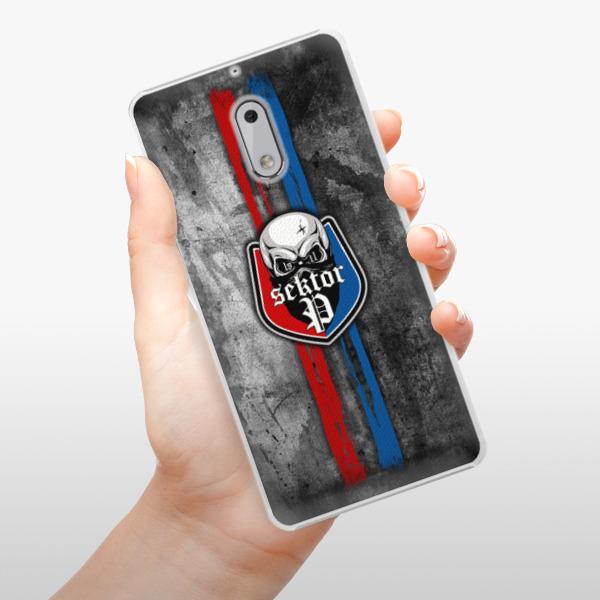 Plastové pouzdro iSaprio - FCVP - Lebka na mobil Nokia 6