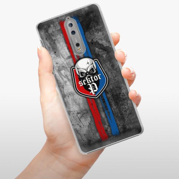 Plastové pouzdro iSaprio - FCVP - Lebka na mobil Nokia 8