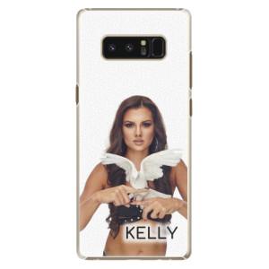 Plastové pouzdro iSaprio - Kelly s hrdličkou na mobil Samsung Galaxy Note 8 + podepsaná karta s Kelly