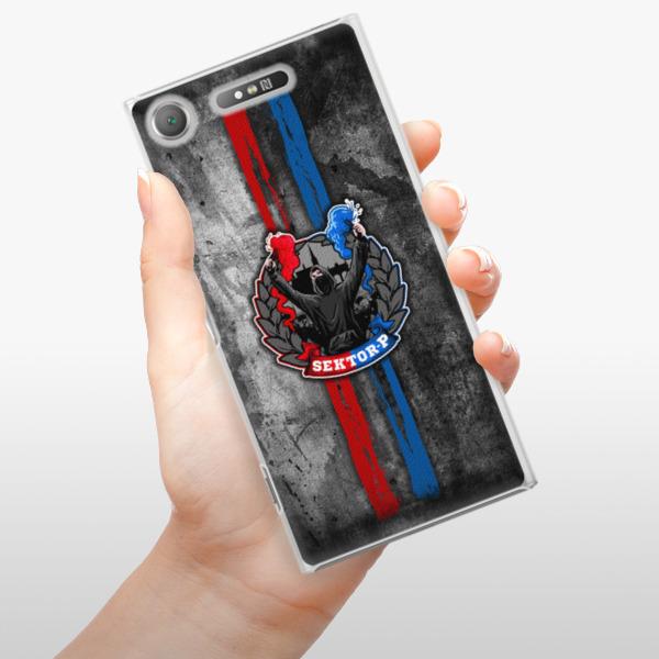 Plastové pouzdro iSaprio - FCVP - Fanatik na mobil Sony Xperia XZ1
