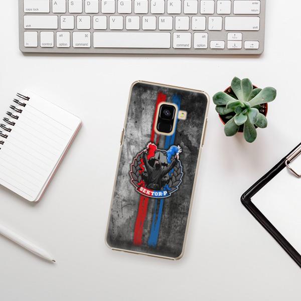 Plastové pouzdro iSaprio - FCVP - Fanatik na mobil Samsung Galaxy A8 2018