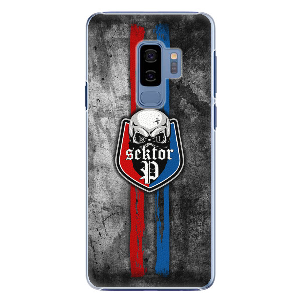 Plastový kryt - FCVP - Lebka na mobil Samsung Galaxy S9 Plus