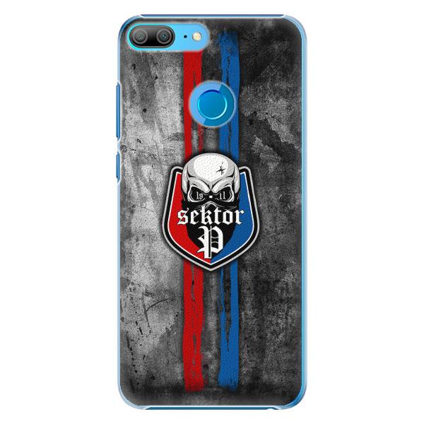 Plastový kryt - FCVP - Lebka na mobil Honor 9 Lite