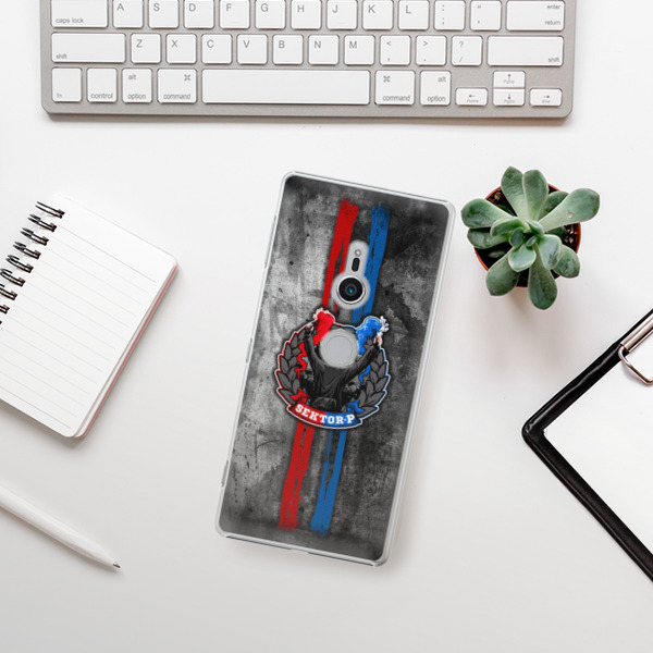 Plastové pouzdro iSaprio - FCVP - Fanatik na mobil Sony Xperia XZ2