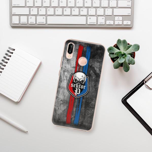 Plastové pouzdro iSaprio - FCVP - Lebka na mobil Huawei P20 Lite
