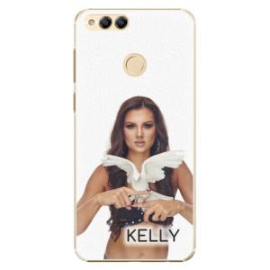 Plastové pouzdro iSaprio - Kelly s hrdličkou na mobil Honor 7X + podepsaná karta s Kelly