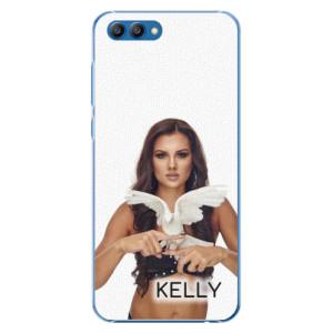 Plastové pouzdro iSaprio - Kelly s hrdličkou na mobil Honor View 10 + podepsaná karta s Kelly