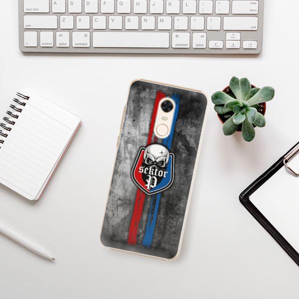 Plastové pouzdro iSaprio - FCVP - Lebka na mobil Xiaomi Redmi 5 Plus