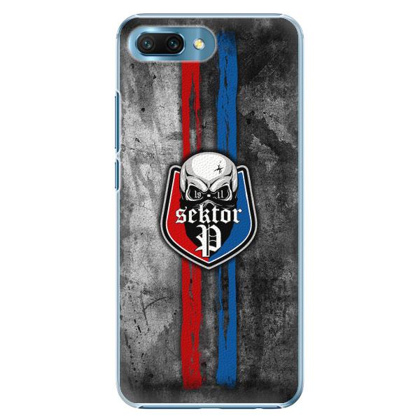 Plastový kryt - FCVP - Lebka na mobil Honor 10