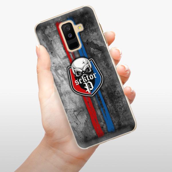 Plastové pouzdro iSaprio - FCVP - Lebka na mobil Samsung Galaxy A6 Plus